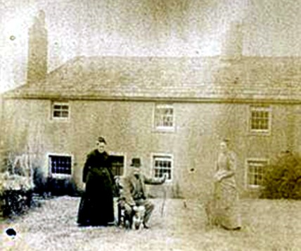 A photograph of Low Stanger Farm in Embleton, 1890